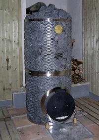 Дровяная печь для бани IKI jatti