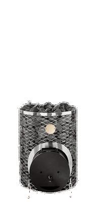 Дровяная печь для бани IKI maxi с глухой дверцей , 404