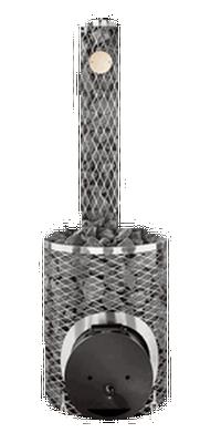 Дровяная печь для бани IKI maxi plus с глухой дверцей , 405