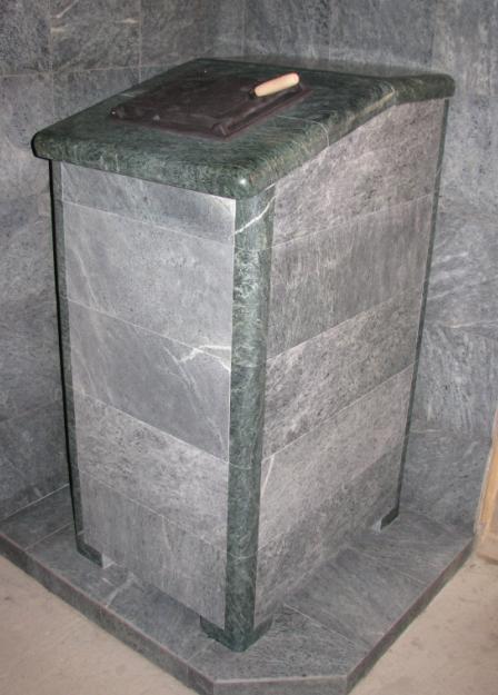 Печь банная КАЛИТА Президент 1100 в змеевике и талькохл, дверь из нерж