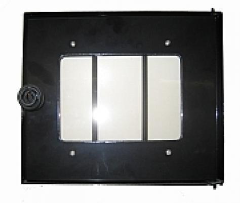 Misa 41100 Дверь стеклянная 297х252 для дровяной печи