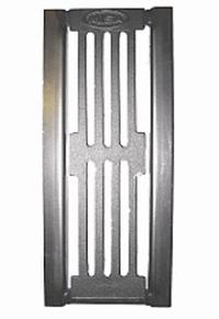 Misa 41112 Колосник 100х400 мм, чугун, с рамкой 179х410