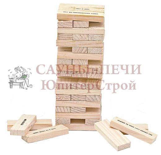 BOYSCOUT Падающая башня Drunken Tower , (4 рюмки в комплекте)/12, 61475