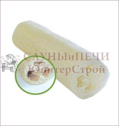 Мочалка из люфы, губка натуральная 20 см   уп30,  , 40004, Банные штучки