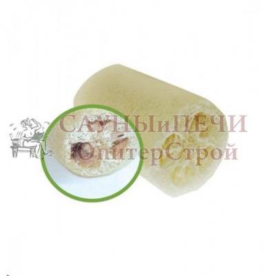 Мочалка из люфы, губка натуральная 12 см   уп30,  , 40003, Банные штучки