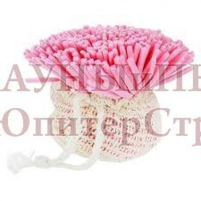 Мочалка для нежной и чувствительной кожи Гвоздика   уп20,  , 40083, Банные штучки
