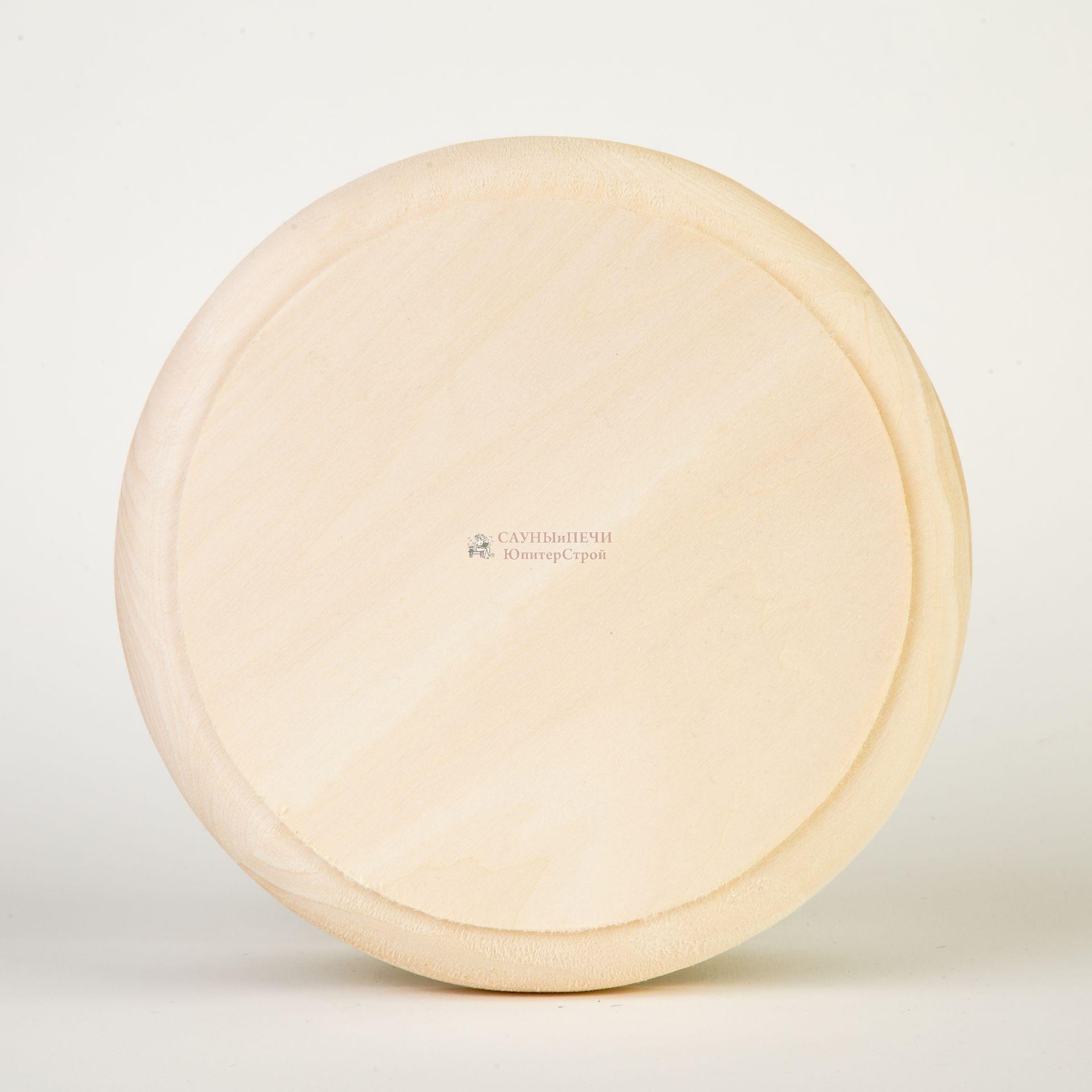 Вентиляционная заглушка D=100 липа (Light wood)