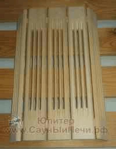 Абажур для светильника из абаши (30 см) , зНН04284