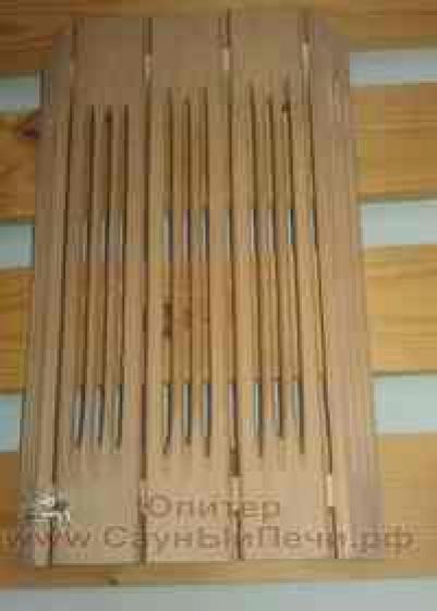 Абажур для светильника из кедра (35 см)