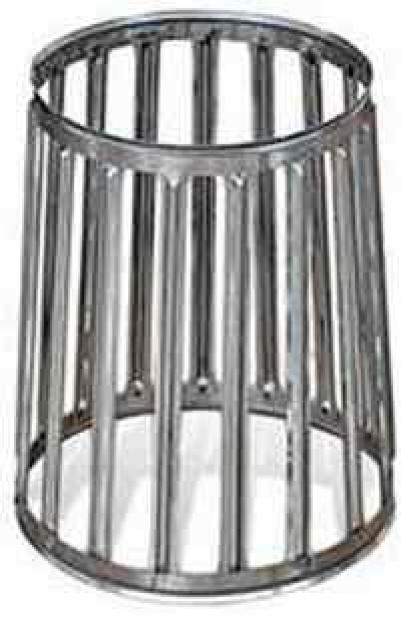 Корзина круглая для камней на трубу, 400х260х360