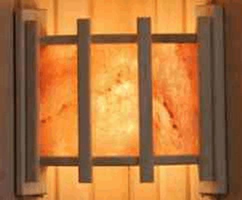 Абажур DW угловой с гим. солью тремя плитками вряд (АУ-3П)