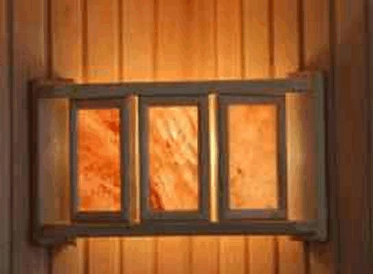 Абажур DW угловой с гим.солью тремя плитками в ряд(АУ-3П1)
