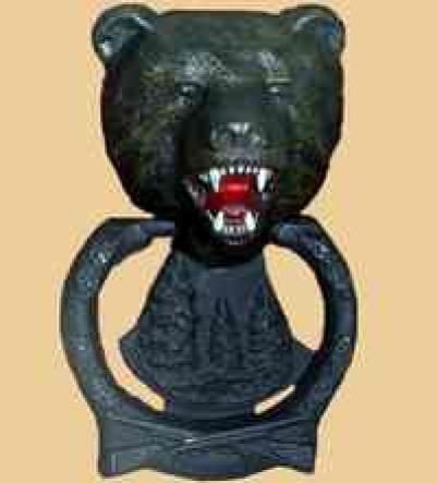 Ручка дверная Медведь