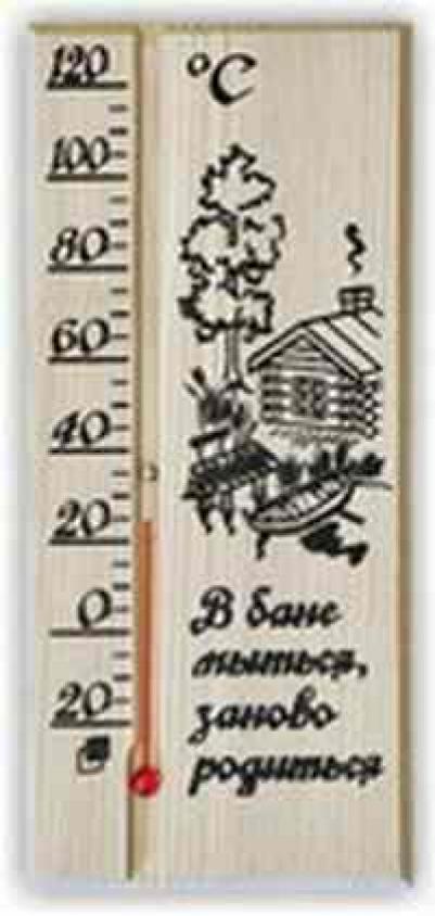 Термометр для сауны ТБС-68 БАНЬКА в блистере