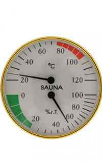 Термометр для сауны Сбб-2-1 банная станция с гигрометром