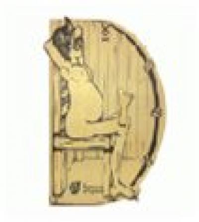 Термометр В здоровом теле-здоровый дух 19,8*13,4*3,3 см для бани и сауны уп5,  , 18003, Банные штучки