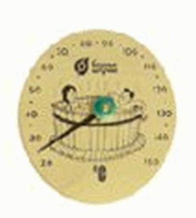 Термометр Удовольствие 16*16*1,5см для бани и сауны  уп10,  , 18005, Банные штучки