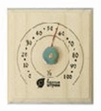 Термометр для сауны квадратный 12*12*2,5см для бани и сауны /10, 18011