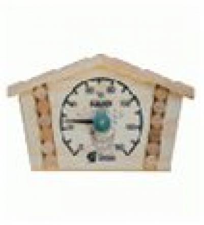 Термометр Избушка 23*12,5*2,5см для бани и сауны  уп5,  , 18014, Банные штучки