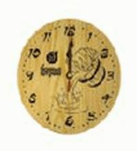 Часы кварцевые в предбанник для бани и сауны уп 6,  , 18039, Банные штучки