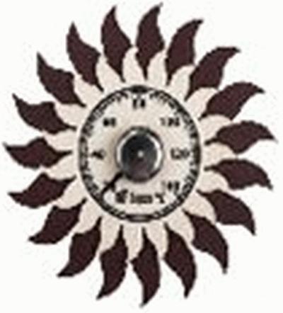 Термометр Солнышко 13*13 см для бани и сауны   уп10,  , 18043, Банные штучки