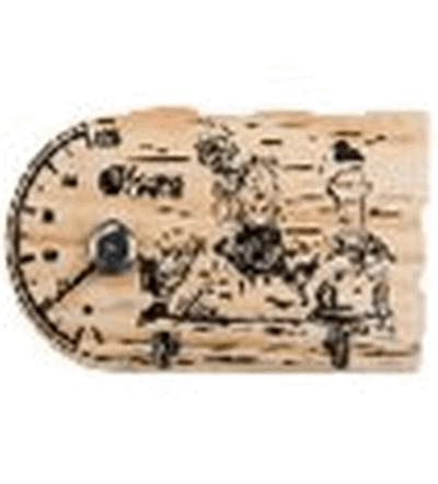 Термометр Забота 20*11,2 см для бани и сауны   уп10,  , 18049, Банные штучки