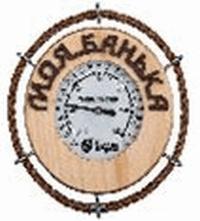 Термометр Моя банька 14*14 см для бани и сауны   уп5,  , 18053, Банные штучки