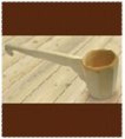 Ковш - черпак  0,25 л. гранёный с горизонтальной ручкой   уп10,  , 30041, Банные штучки