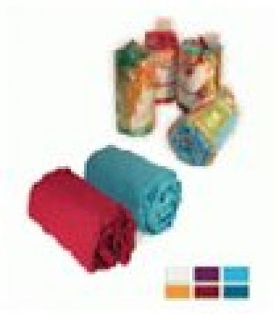 Вафельная накидка для женщин, цветная, однотонная, 145х78см   уп18,  , 32058, Банные штучки
