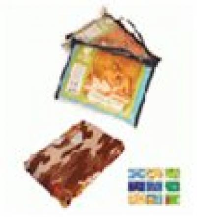 Вафельное полотенце-простынь банное, цветное с рисунком 80*150см   уп18,  , 32071, Банные штучки