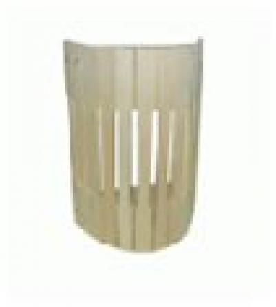 Абажур для светильника, настенный, липа, 24х16х31   уп3,  , 32143, Банные штучки