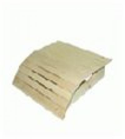 Подголовник липовый, мягкий,  35х35х10   в кор. уп8,  , 32144, Банные штучки