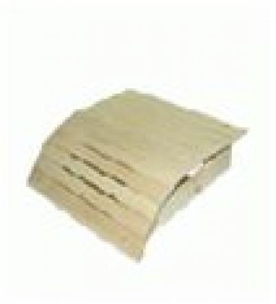 Подголовник липовый, мягкий, большой, 60х35х10   в кор. уп6,  , 32145, Банные штучки