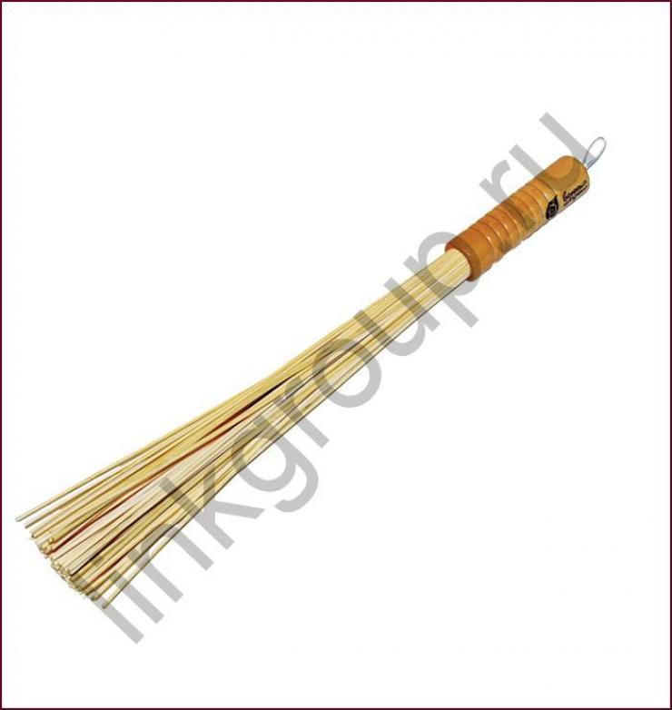 Веник  массажный, бамбуковый малый   3х40 см уп30,  , 40149, Банные штучки