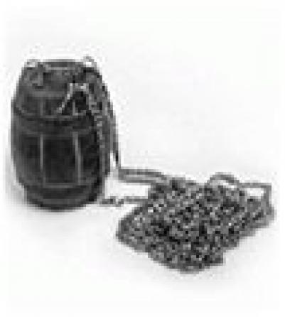 Испаритель бочонок из камня для бани и сауны   уп8,  , 40220, Банные штучки