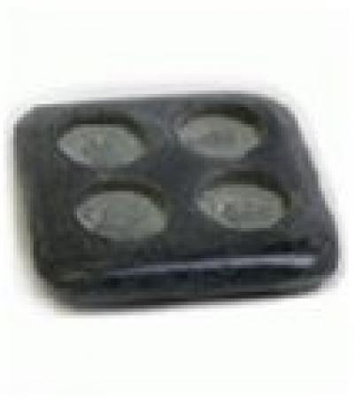 Испаритель домино из камня  для бани и сауны   уп8,  , 40223, Банные штучки