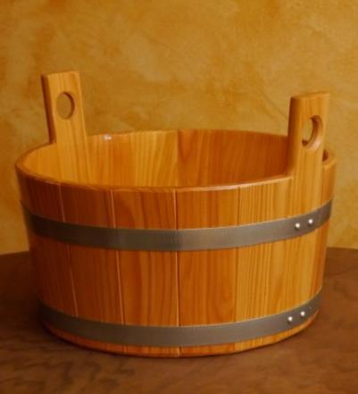 Blumenberg Деревянный таз (лиственница) 16л (С40*р20см,  410/05