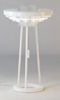 Cariitti Gerbera настольный светильник 350 белый, 1589042, 1589042