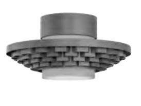 Cariitti Gerbera потолочный светильник 350 темный маренго, 1589055