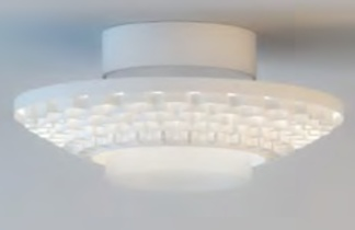 Cariitti Gerbera потолочный светильник 450 белый, 1589057
