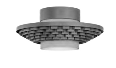 Cariitti Gerbera потолочный светильник 450 темный маренго, 1589059