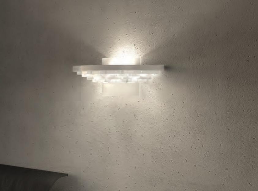 Cariitti Gerbera настенный светильник 350 белый, 1589060