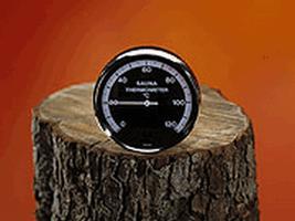 EOS Термометр для сауны круглый Д=100, 905521