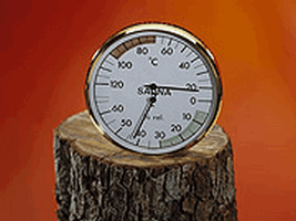 EOS Термогигрометр для сауны Д=160, 906084