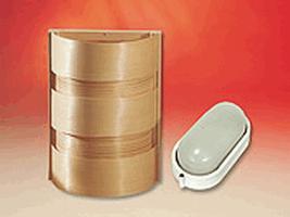 EOS Лампа для сауны с деревянным абажуром 205 х 270 мм, 942877