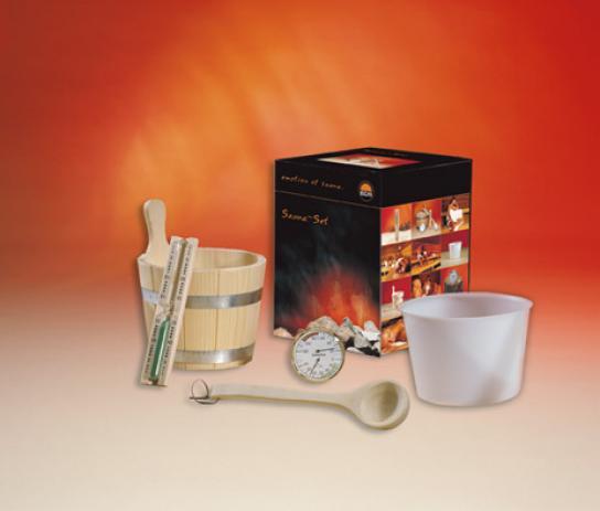 EOS Набор для сауны Sauna Set N II (5 предметов), 942864