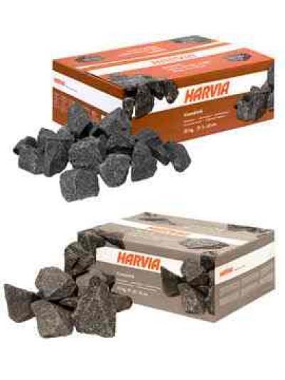 Камни для бани 20 кг, d<10 см, артикул AC3000, HARVIA