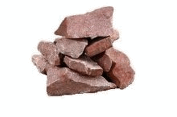 Камни для бани малиновый кварцит, 20 кг