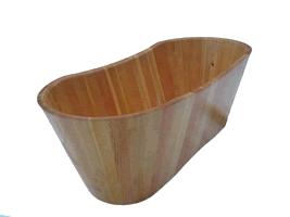 Деревянная ванна, материал - термоясень
