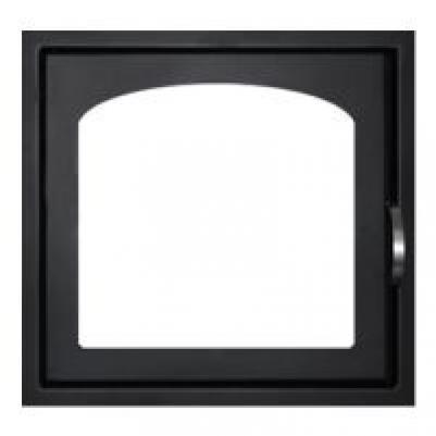 Дверка каминная ДК555-1А сталь Мета
